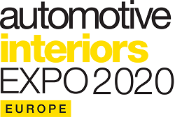 Automotive Interiors Expo Europe 2020 | 16, 17, 18 Giugno 2020 |  Hall 4, Messe Stoccarda, Germania